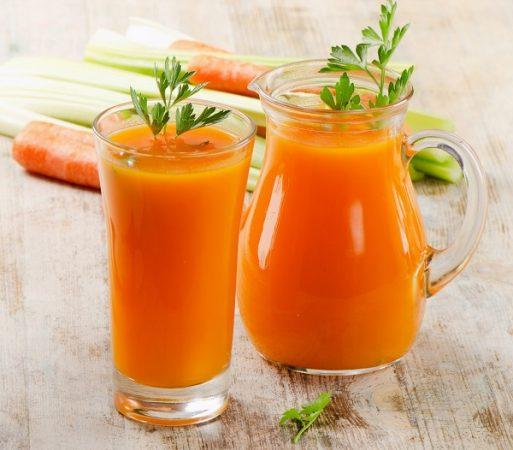 น้ำแครอท-สมุนไพรบำรุงผิว