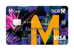 SCB M Live Visa Platinum