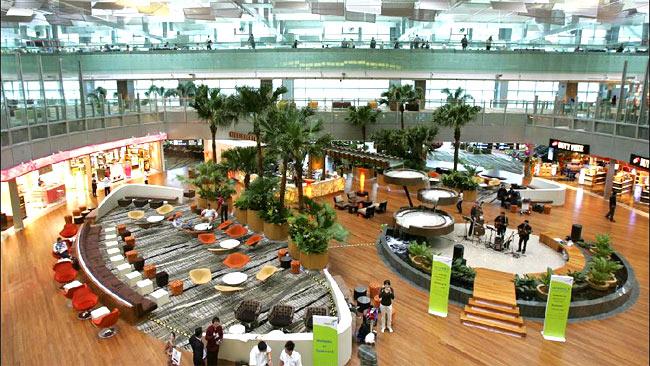 สนามบินชางงี (Singapore Changi)
