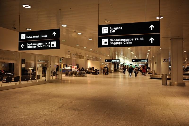 สนามบิน ซูริค Zurich