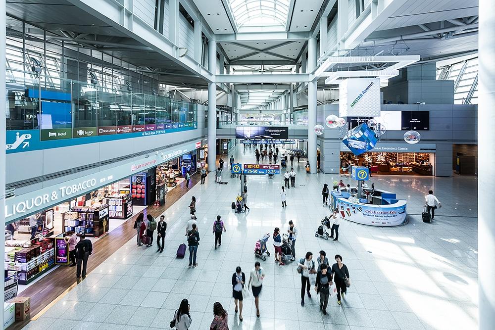 สนามบิน อินชอน (Incheon)