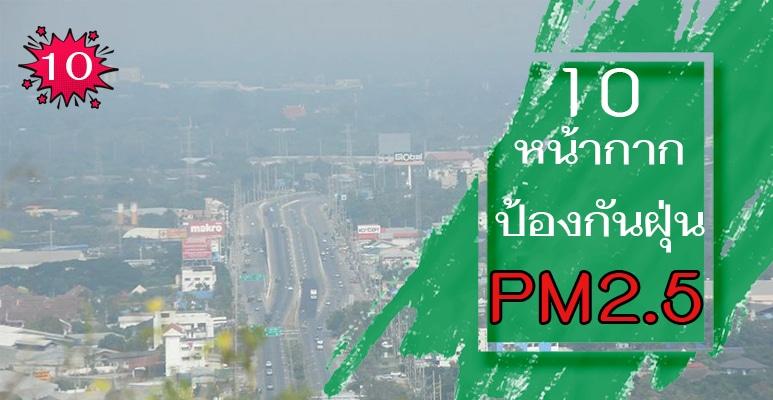หน้ากาก pm2.5