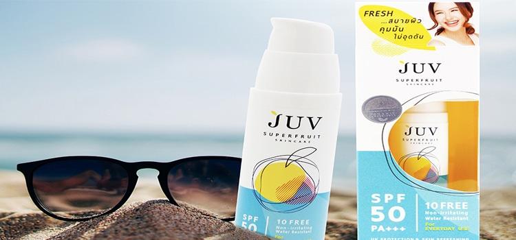 ครีมกันแดด JUV Superfruit
