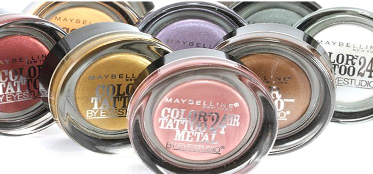 Maybelline Eye Studio Color Tattoo 24HR Cream Gel Shadow