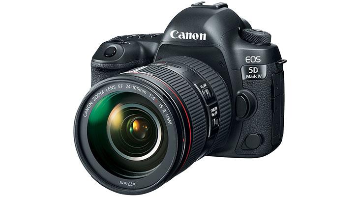 กล้อง DSLR Canon EOS 5D Mark IV