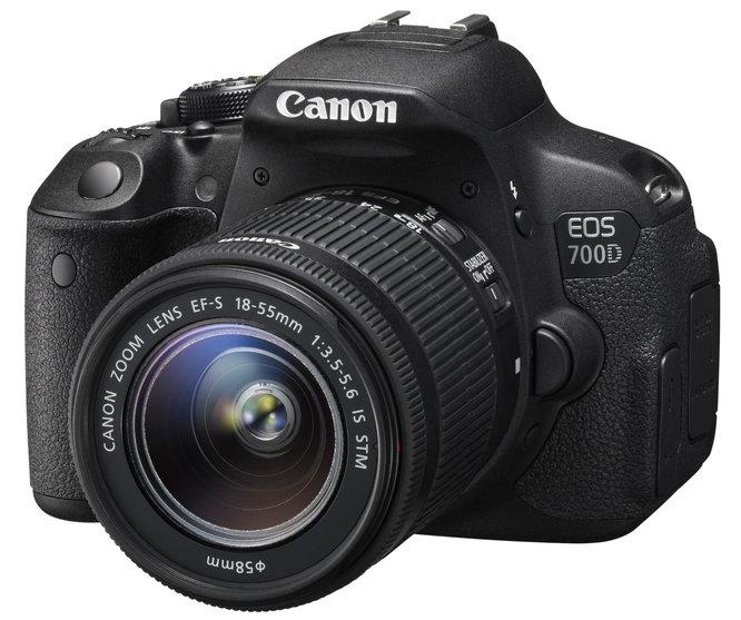 กล้อง DSLR Canon EOS 700D
