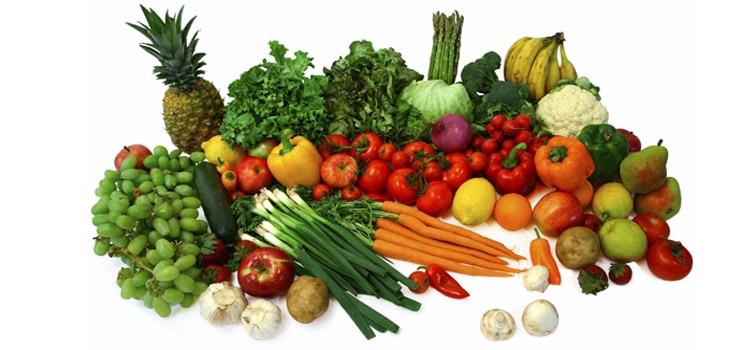 ทานผักและผลไม้