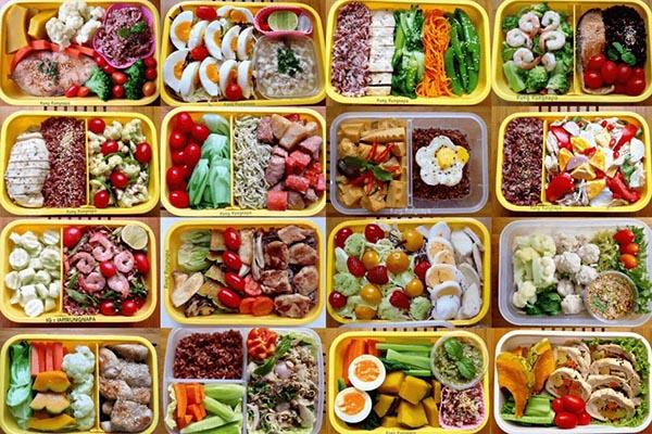อาหารของคนรักสุขภาพ