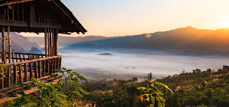 เที่ยวหน้าฝนวนอุทยานภูลังกา (จังหวัดพะเยา)