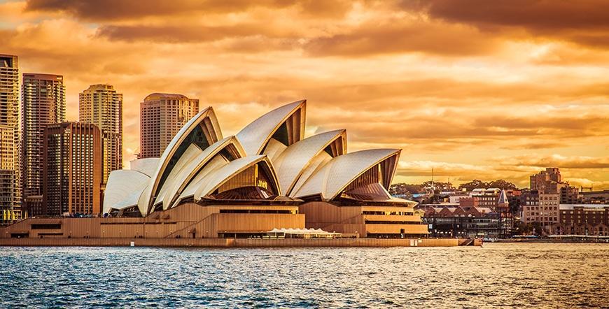 โรงอุปรากรซิดนีย์ Sydney Opera House ออสเตรเลีย
