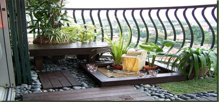 ไอเดียการจัดระเบียงคอนโด ให้เป็นสวนสวยๆเก๋ไกดูแลง่าย