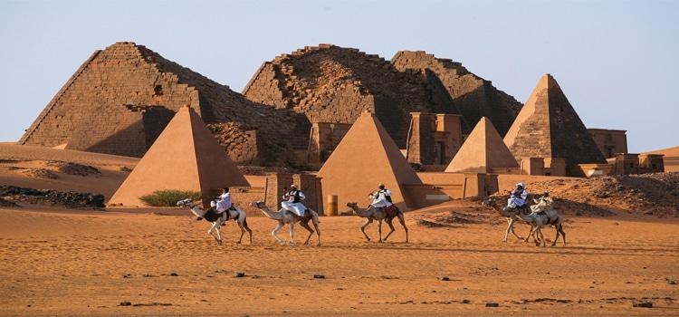 อากาศร้อนของประเทศซูดาน