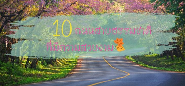 10 ถนนสายที่มีความสวยงาม