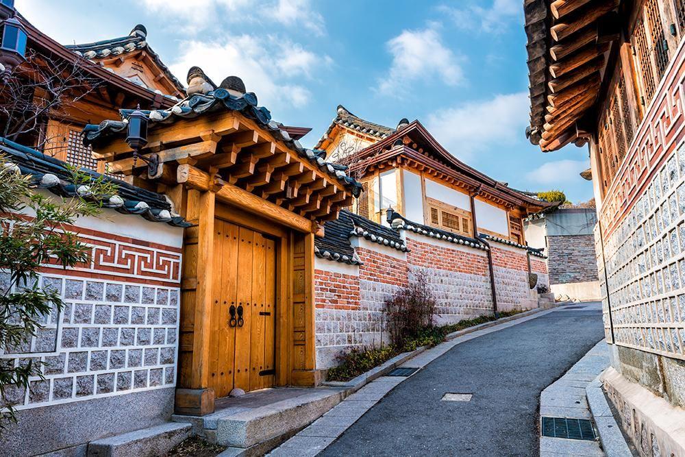 หมู่บ้านโบราณ บุกชอนฮันอก