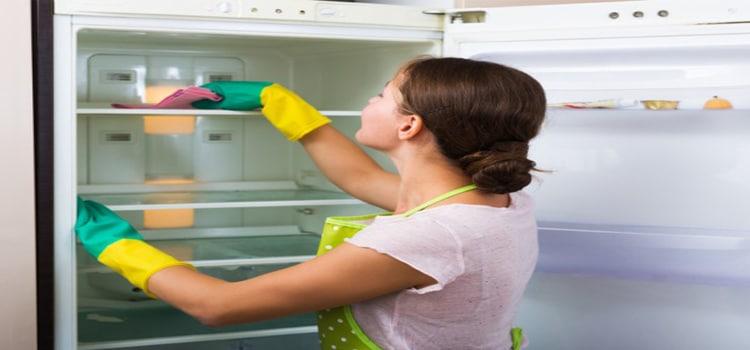 วิธีกำจัดกลิ่นอับในตู้เย็น
