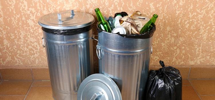 วิธีกำจัดกลิ่นเหม็นในถังขยะ