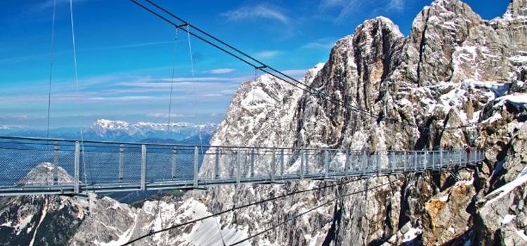 Dachstein Skywalk สะพานดัคชไตน์ ประเทศออสเตรีย