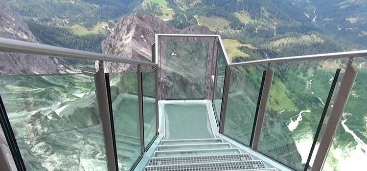 Dachstein Stairway to Nothingness ประเทศออสเตรีย