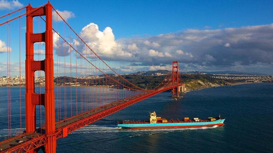 GOLDEN GATE BRIDGE สหรัฐอเมริกา