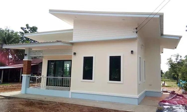 แบบบ้าน ที่ใช่งบสร้าง 490,000 บาท 2