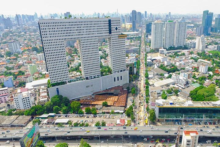 10 อันดับ ตึกที่รูปทรงแปลกที่สุดในโลก! 7