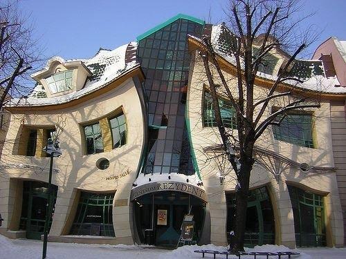 10 อันดับ ตึกที่รูปทรงแปลกที่สุดในโลก! 9