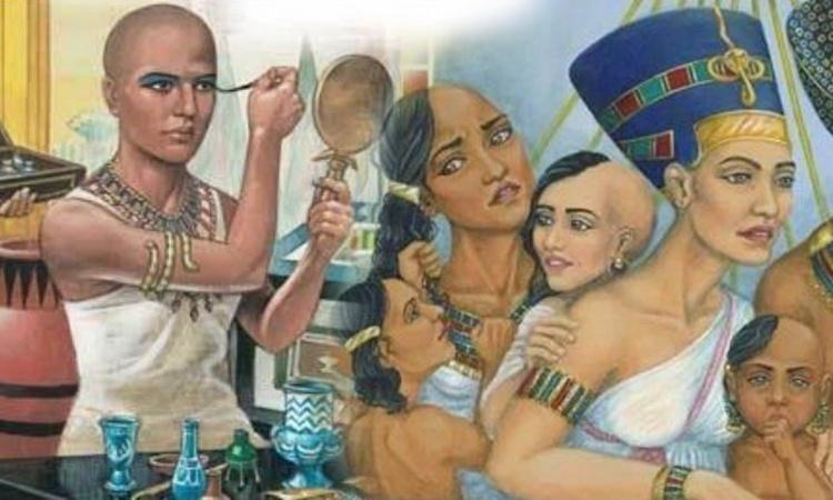 คนอียิปต์ส่วนใหญ่โกนหัว