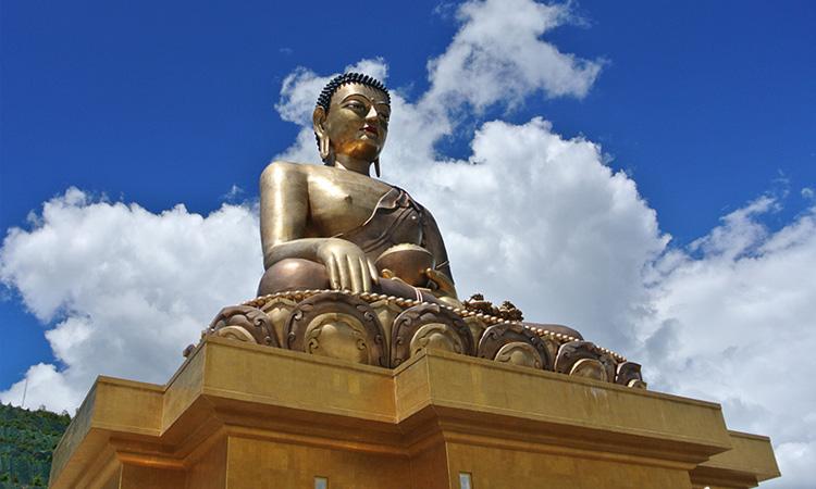 หลวงพ่อสัจจธรรม กรุงทิมพู ประเทศภูฏาน