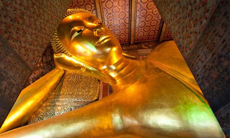 พระพุทธไสยาส วัดพระเชตุพนวิมลมังคลาราม ประเทศไทย